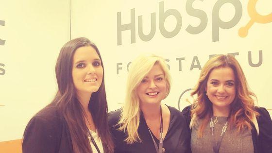 En Dublín, con nuestros compis de Hubspot